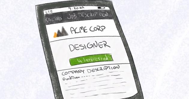 mobile job ad