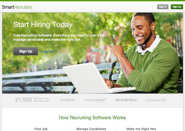 Social Recruiting Platform