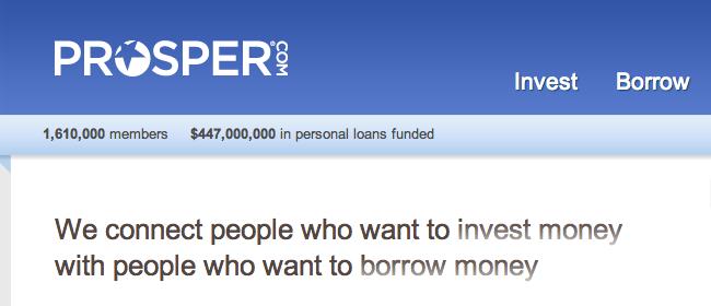 Prosper.com Websitejpg