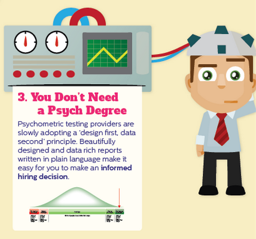 psychometric testing in recruting Employers naturally want to know everything they can about potential employees, and they want that information to be accurate, so psychometric testing.