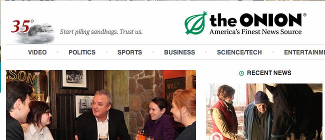 The Onion Website