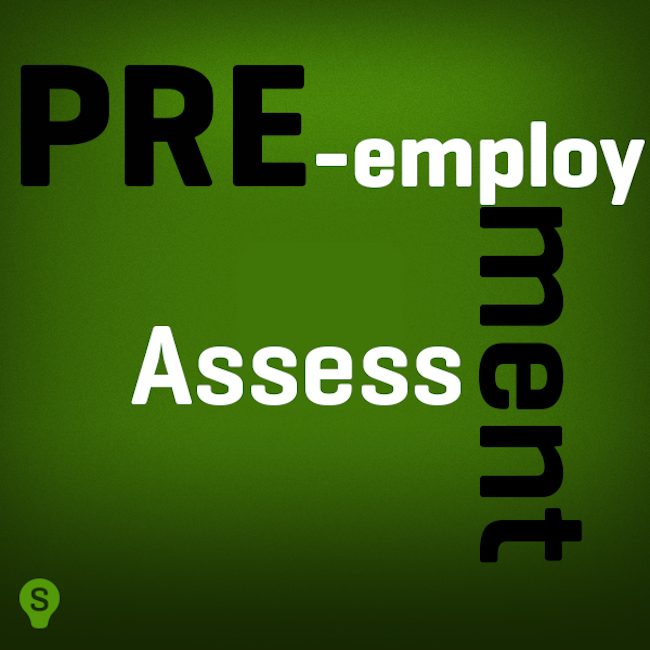 pre employment assessment | pre-employment assessment | employment assessment