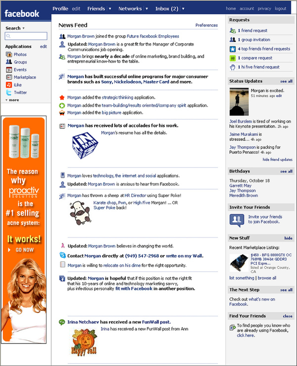 facebookcoverletter online cover letter - Awesome Cover Letters