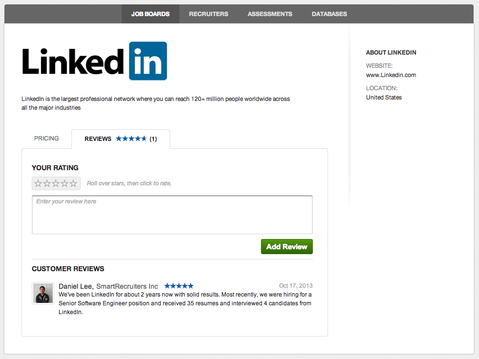 LinkedIn Review