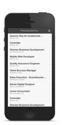 Mobile Careers Site