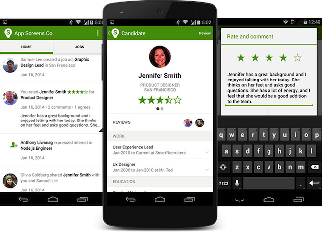 Android Hiring App