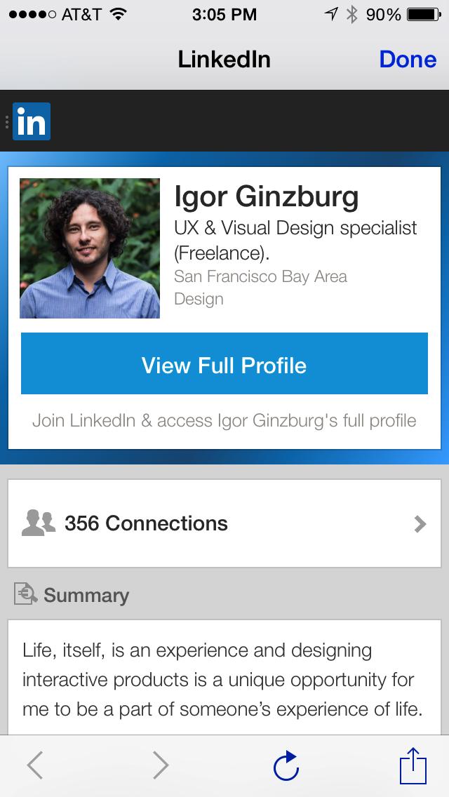 Igor Ginzburg - Mobile Hiring