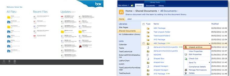 box vs sharepoint