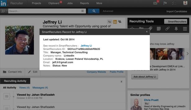 SmartRecruiters Inside LinkedIn