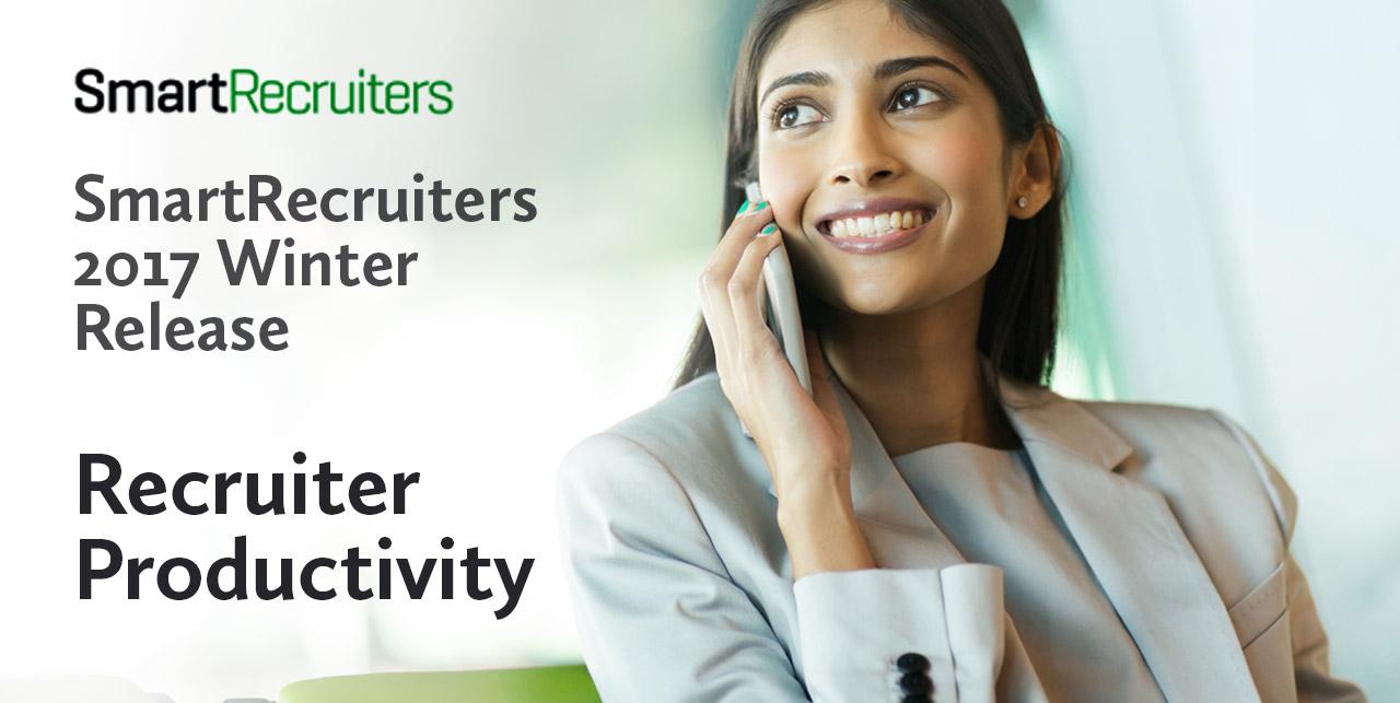 Recruiter Productivity SmartRecruiters