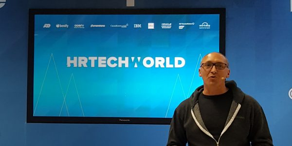 Jerome at HR Tech World London