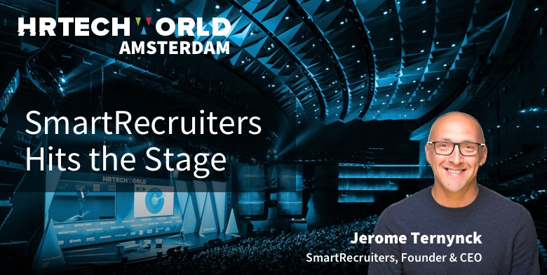 Speaking at HR Tech World in Amsterdam