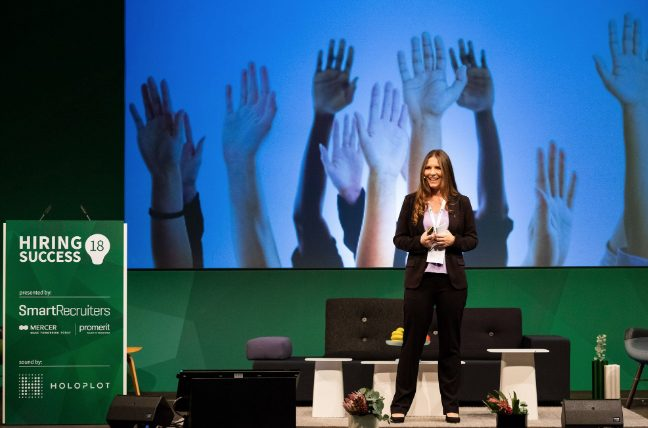 Shelley Winner speaking at Hiring Success EU – Berlin