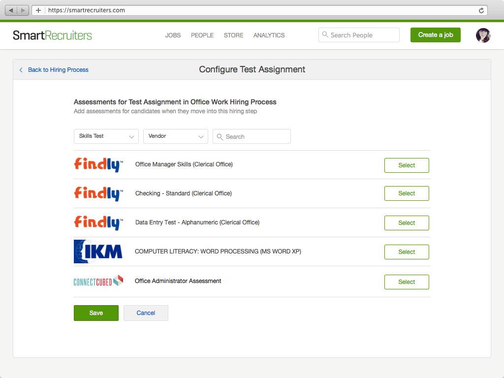 Assessment Workflows