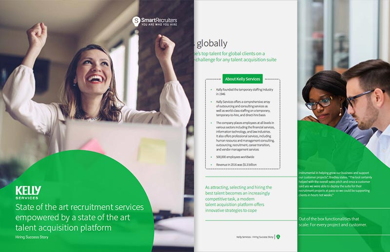 Kelly Services: State of art recruitment empowered by state of art talent acquisition platform