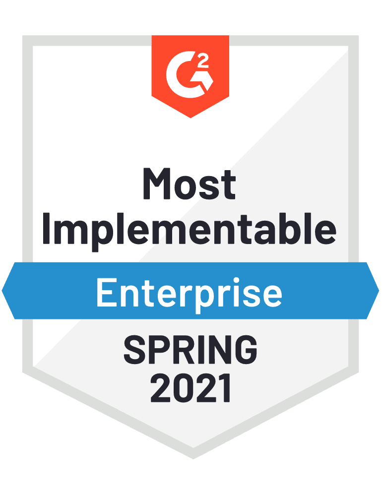 Most implementable - Spring 2021
