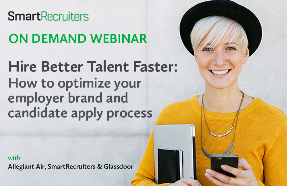 Webinar - Hire Better Talent Faster