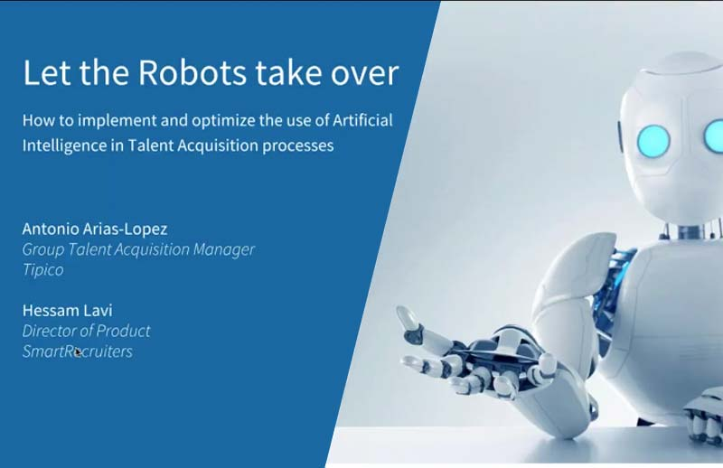 Webinar - Let the Robots take over