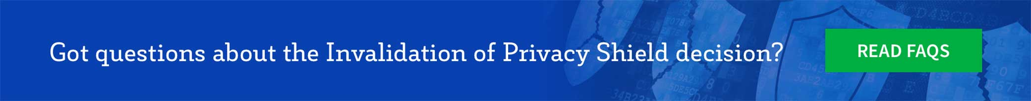 Privacy Shield FAQ