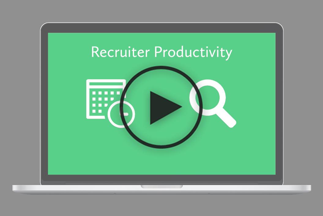 Recruiter Productivity Video Thumbnail